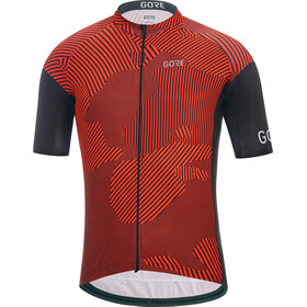 GORE WEAR C3 Combat Maillot de cyclisme Homme, red/black
